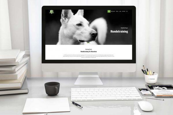 Responsive Webseiten mit optimiertem Webdesign - Bindungscoach Hunde- & Menschentraining