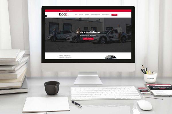 Responsive Webseiten mit optimiertem Webdesign - Fahrschule Bock GmbH